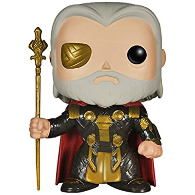 Funko POP Marvel (BOBBLE): Odin Action Figure: Funko Pop! Marvel:: Toys & Games