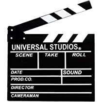 ADULT BLACK AND WHITE 20/'s FILM /& MOVIE OLD SCHOOL HOLLYWOOD STYLE CLAPPER BOARD