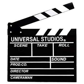 UNIVERSAL STUDIOS MOVIE DIRECTORS CLAP BOARD Clapper Clapboard