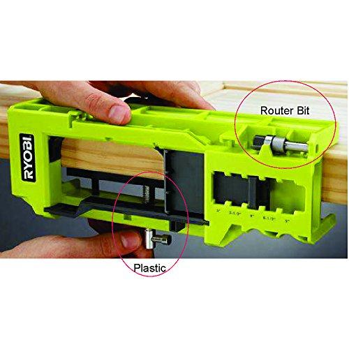Ryobi A99ht2 Door Hinge Installation Kit Mortiser Template