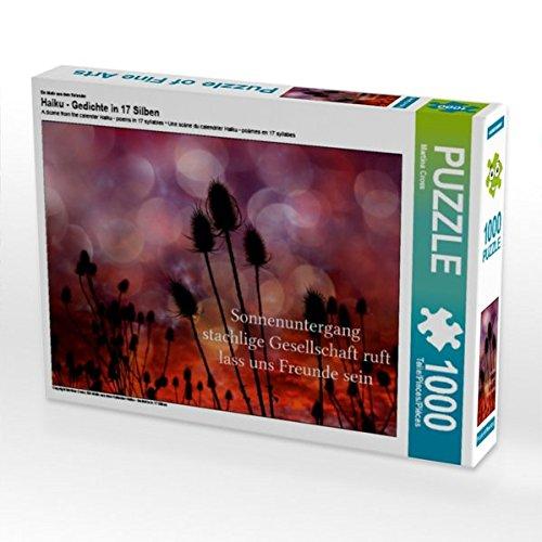Ein Motiv aus Dem Dem Dem Kalender Haiku - Gedichte in 17 Silben 1000 Teile Puzzle Quer fc6cc3