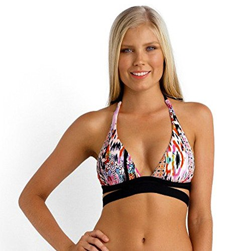 Seafolly Womens Bandeau Top 6 Orange