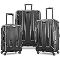3-Piece Samsonite Centric Nest Expandable Hardside Spinner Luggage Set (20/24/28) (Black)