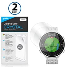 Garmin Approach S6 Screen Protector, BoxWave® [ClearTouch Crystal (2-Pack)] HD Film Skin - Shields From Scratches for Garmin Approach S6
