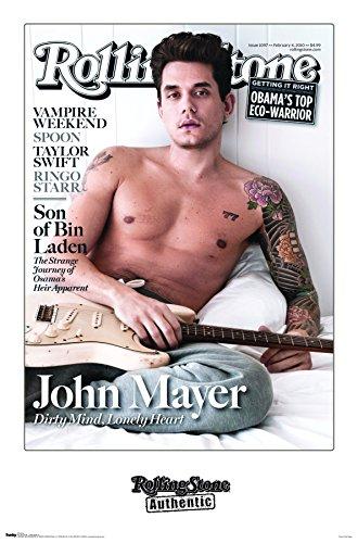 "Trends International Wall Poster Rolling Stone Magazine John Mayer, 22.375"" x 34"""