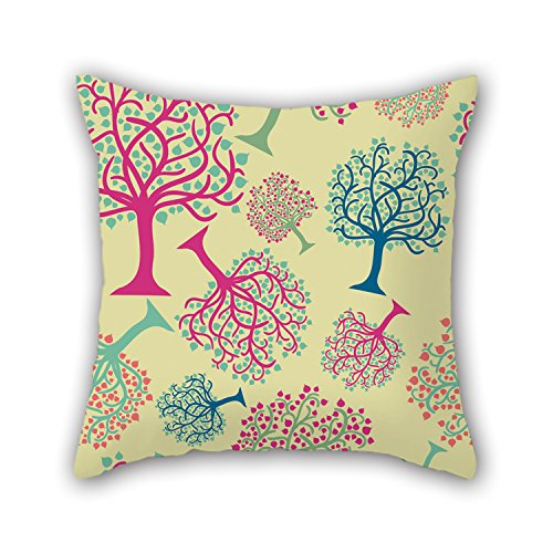 PILLO Tree Throw Pillow Case 20 X 20 Inches / 50 By 50 Cm Gift Or Decor For Valentine,bar,son,birthday,drawing Room,girls - Twin Sides