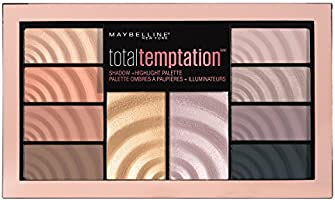 MAYBELLINE Total Temptation Shadow & Highlight Palette, 12 Grams
