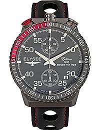 ELYSEE Men's 80517MM Graf Berghe von Trips Analog Display Quartz Black Watch