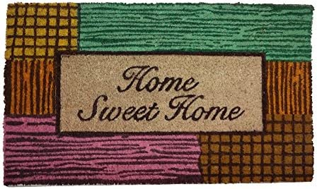 Bosmere HomeSweetHome Coir Door Mat, 29-Inch by 17-Inch