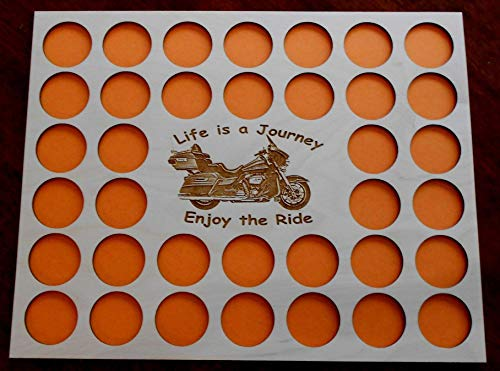 Custom Poker Chip Frame Display Insert 11 by 14