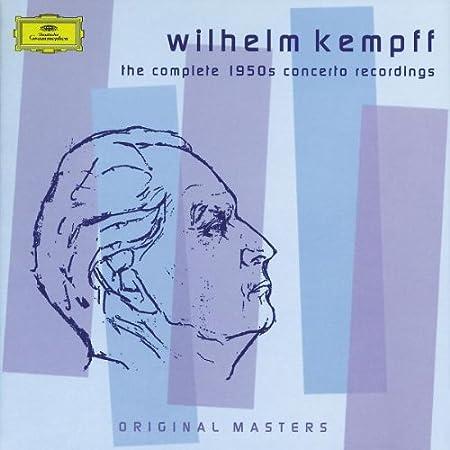 Concierto Piano Completos Años 50- Kempf: Wilhelm Kempff: Amazon.es: Música