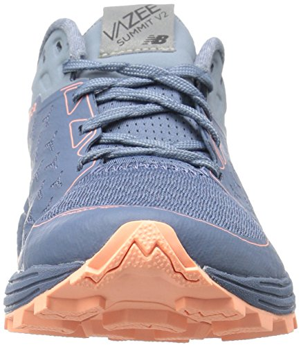 New Balance Donna Vazee Summit V2 Scarpa Da Corsa Trail Runner Deep Blue Blue / Reflection