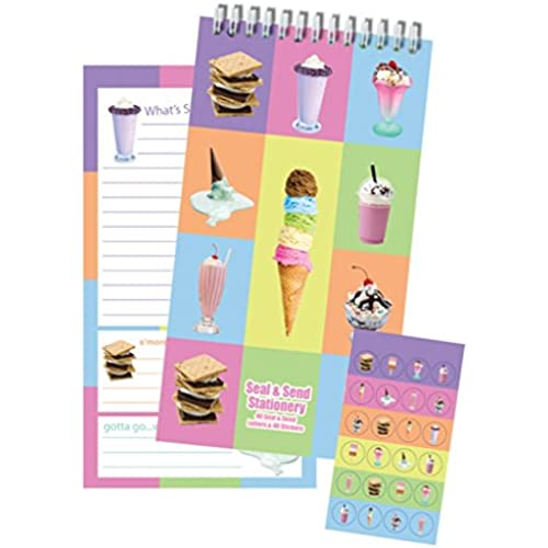 iscream 'Ice Cream Party' Seal and Send Stationery Sales