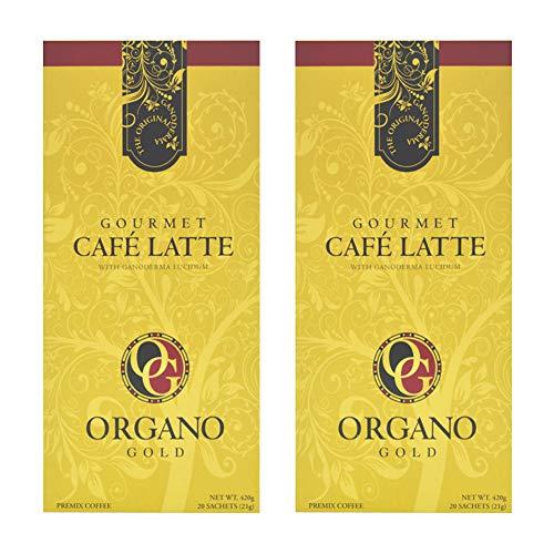 Organo Gold Organic Ganoderman Premium Latte - (2 Boxes)