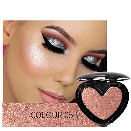 Face 3D Contour Highlighter Bronzer Makeup Shimmer Brighten Skin Highlighting Concealer Cosmetic