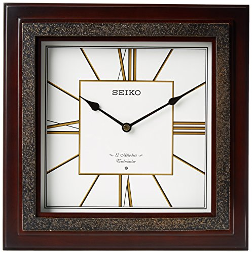 Seiko QXM334BLH Wall Japanese Quartz Wall Clock