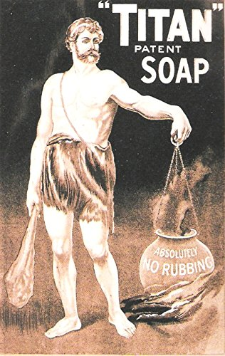 Titan - Patente jabón acrílico imán para nevera o se puede ...