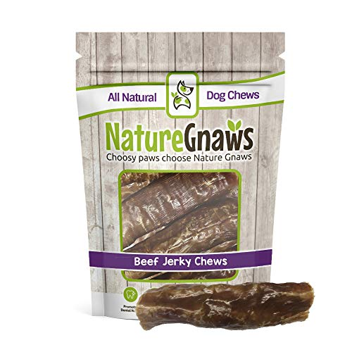 Nature Gnaws Beef Trachea Jerky Wrap 5-6