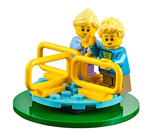 Blonde Girl Game (LEGO City MiniFigure: Twins on Merry-Go-Round (Blond Boy & Girl) 60134)