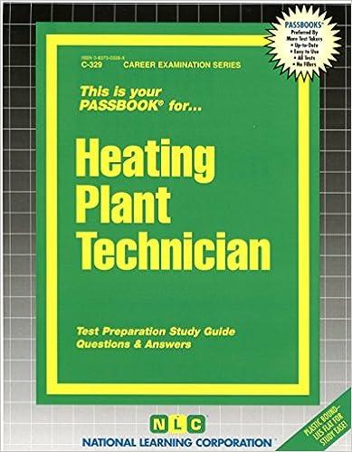Heating Plant Technician Career Examination Passbooks