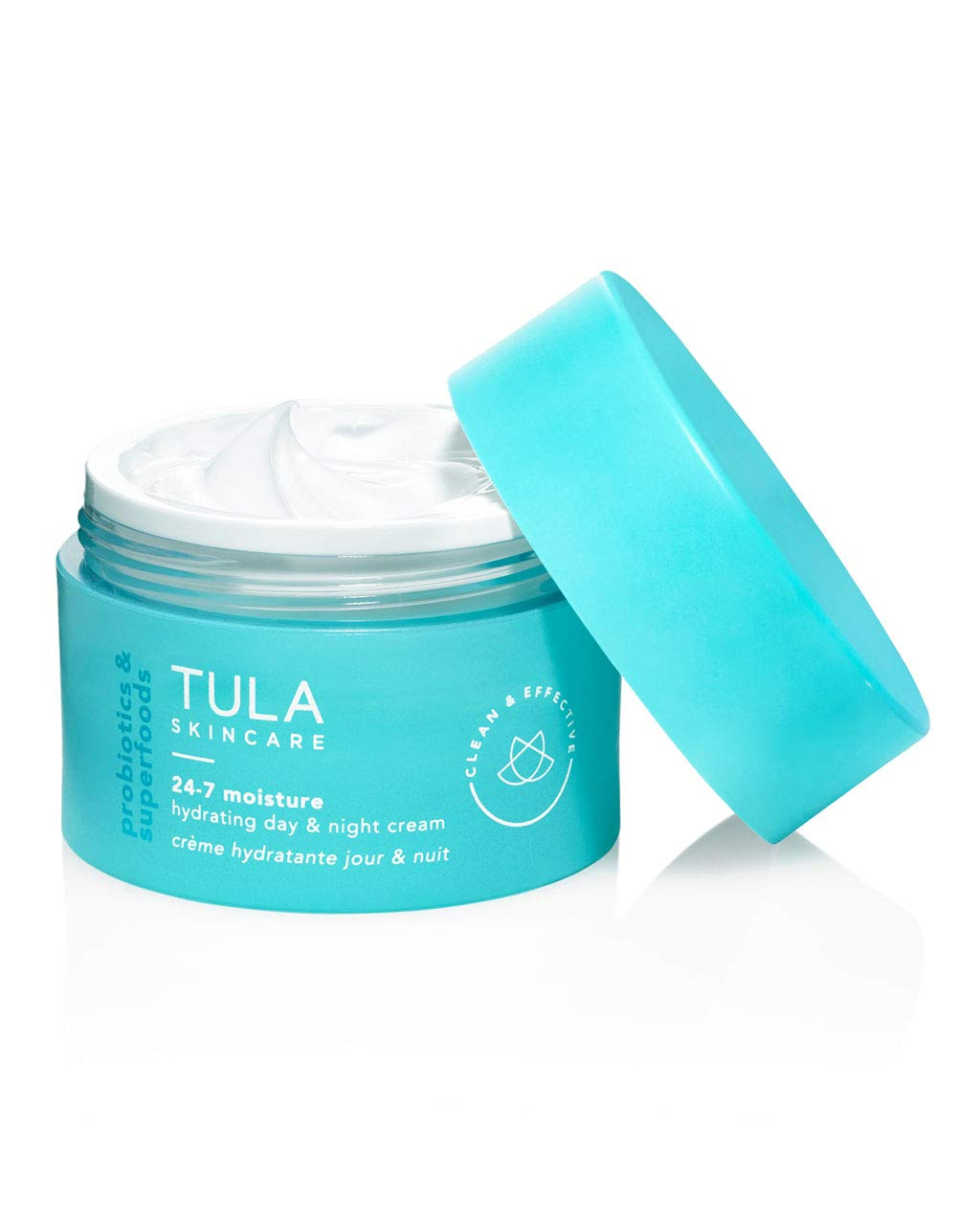 TULA Probiotic Skin Care 24-7 Moisture Hydrating Day and Night Cream | Moisturizer for Face, Anti Aging Face Cream, Contains Watermelon Fruit and Blueberry Extract | 1.5 oz