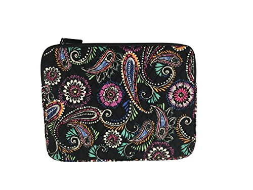 Bradley Laptop Vera - Vera Bradley Laptop Sleeve, Signature Cotton (Bandana Swirl)
