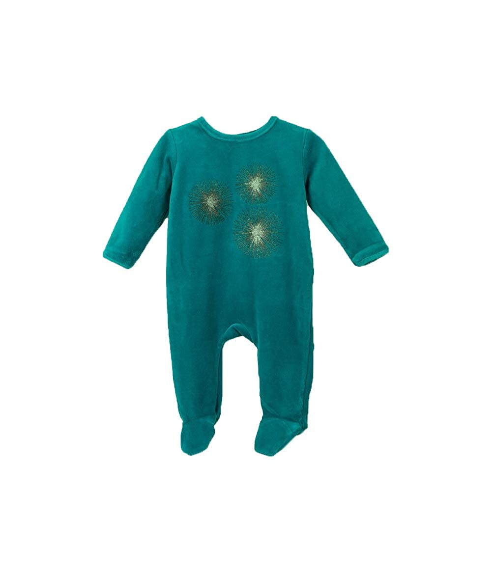 52302102d6c Amazon.com  Bentevi Baby Clothes Sleep N Play Footie Coverall Romper  Sparkle Design Boy or Girl Unisex Long Sleeve  Clothing