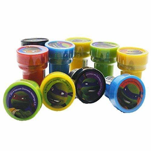 Ninja Turtles Stampers Party Favors (10 Stampers) (Ninja Turtle Stamps compare prices)