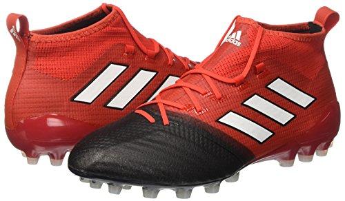 adidas Ace 17.1 Primeknit Ag, Zapatillas de Fútbol para Hombre, Rojo (Red/Footwear White/Core Black), 48 EU: Amazon.es: Zapatos y complementos
