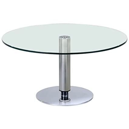 38 Inch Round Table.Amazon Com Somette 38 Inch Round Hi Low Dining Table Silver Tables