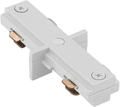 WAC Lighting LLE-WT L Track Live End Connector White