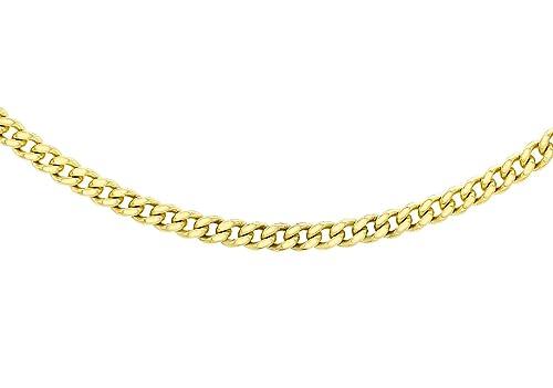 rivenditore di vendita 90d09 3ee9b Carissima Gold Collana da Donna, in Oro Giallo 18K (375)