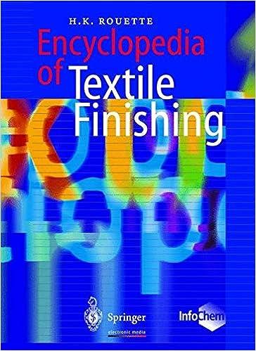 Encyclopedia of Textile Finishing