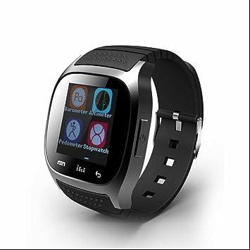 SmartWatch Bluetooth reloj Intelligent con Notificación de WhatsApp Monitor de Ritmo Cardíaco Monitor de Dormir Control