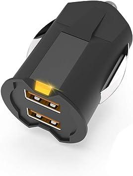 Más pequeño Mini USB Adaptador de cargador de coche 2A
