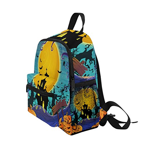 ZZKKO Theme nbsp;Backpack Kids nbsp;Girls nbsp;for Boys nbsp;Book nbsp;School nbsp;Bag Happy nbsp;Toddler Halloween RURqwxn7S