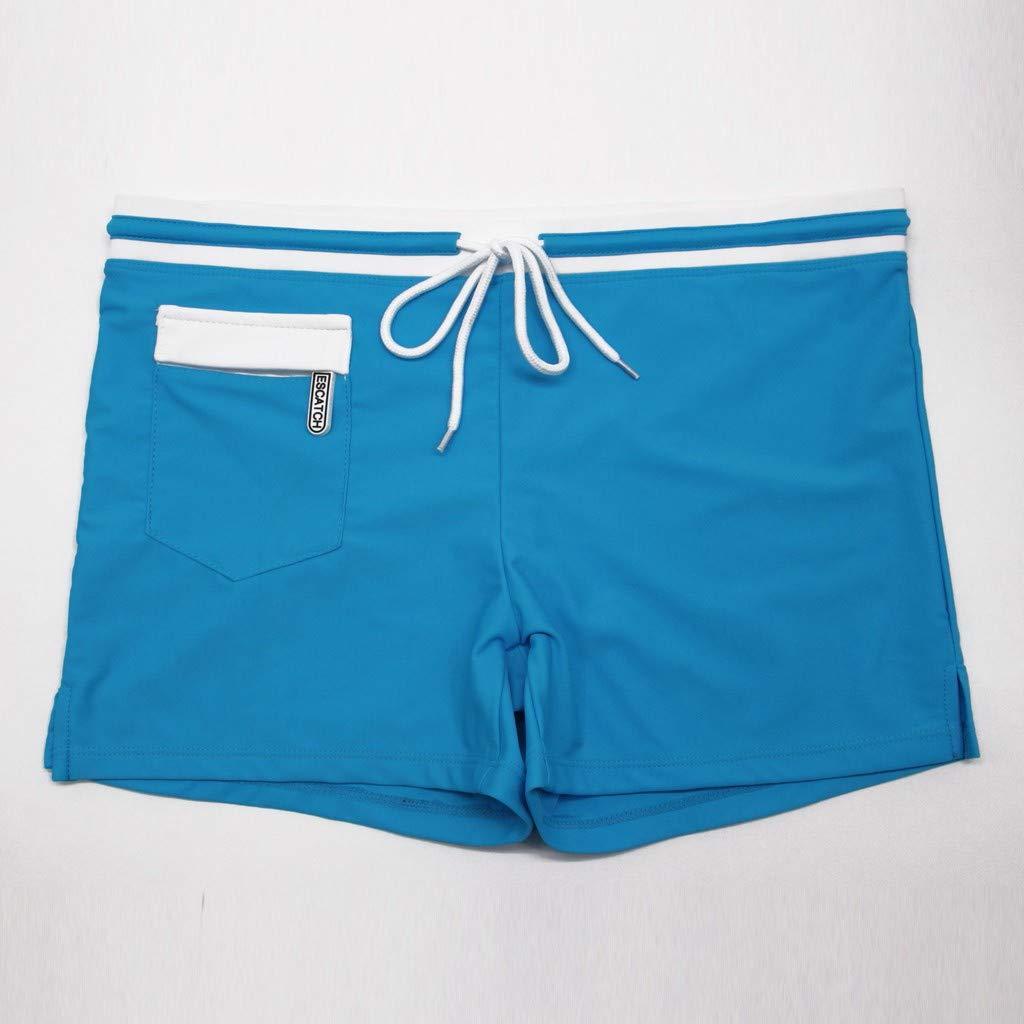 564d08265ff3 Sport e tempo libero Pantaloncini Zolimx Costume da Bagno Uomo Uomini  Traspirante Tronchi Tasca Pantaloni Drawsting ...