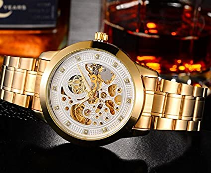 Wei crown WEIGUAN gold strip waterproof hollow nouveau riche ...