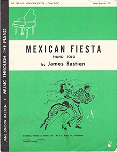 mexican fiesta music through the piano