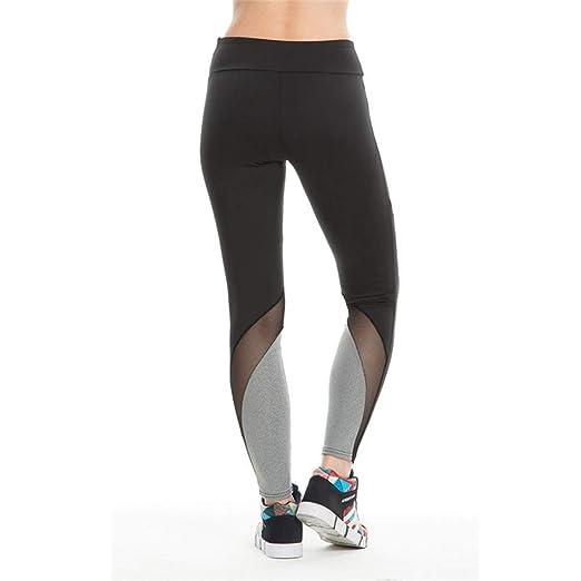 Fafalisa - Leggings de Yoga para Mujer, Cintura Alta, Malla ...