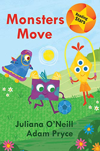 Monsters Move (Reading Stars) (English Edition)