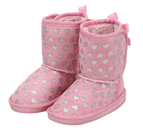 Kids Girls Toddler Winter Boots Faux Fur Lined Outdoor Winter Boots Toddler 10 US