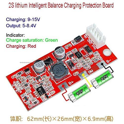 FidgetKute Intelligent Balance Charging Protection Board 2S Packs 18650 Lithium Satellite