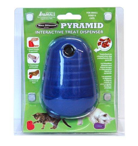 [Pyramid Interactive Treat Dispenser] (Pyramid Cat)