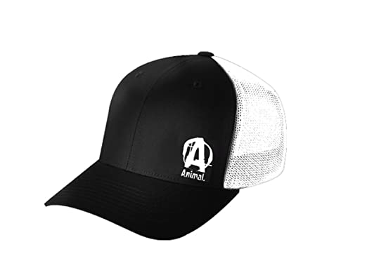 18ef18d67e1ec Image Unavailable. Image not available for. Colour  Universal Nutrition  Animal Black   White Flexfit Cap