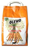 Olewo Carrots Digestive Dog Food Supplement, effective dog diarrhea relief for over 35 years, adds natural source vitamins to any dog food to promote overall health, 1-ingredient, non-GMO product, Made in Germany, 5.5 Pounds