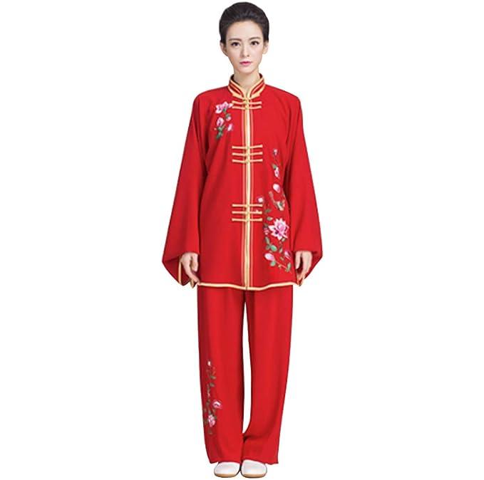 Amazon.com: kikigoal bordado Retro de la mujer de Tai Chi ...