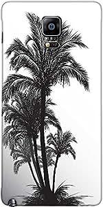 Snoogg Tropical Ilustración Diseñador Funda Protectora De La Contraportada Pa...