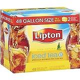 Image of Lipton Iced Tea, Gallon Size Tea Bags (48 ct.) (pack of 2)