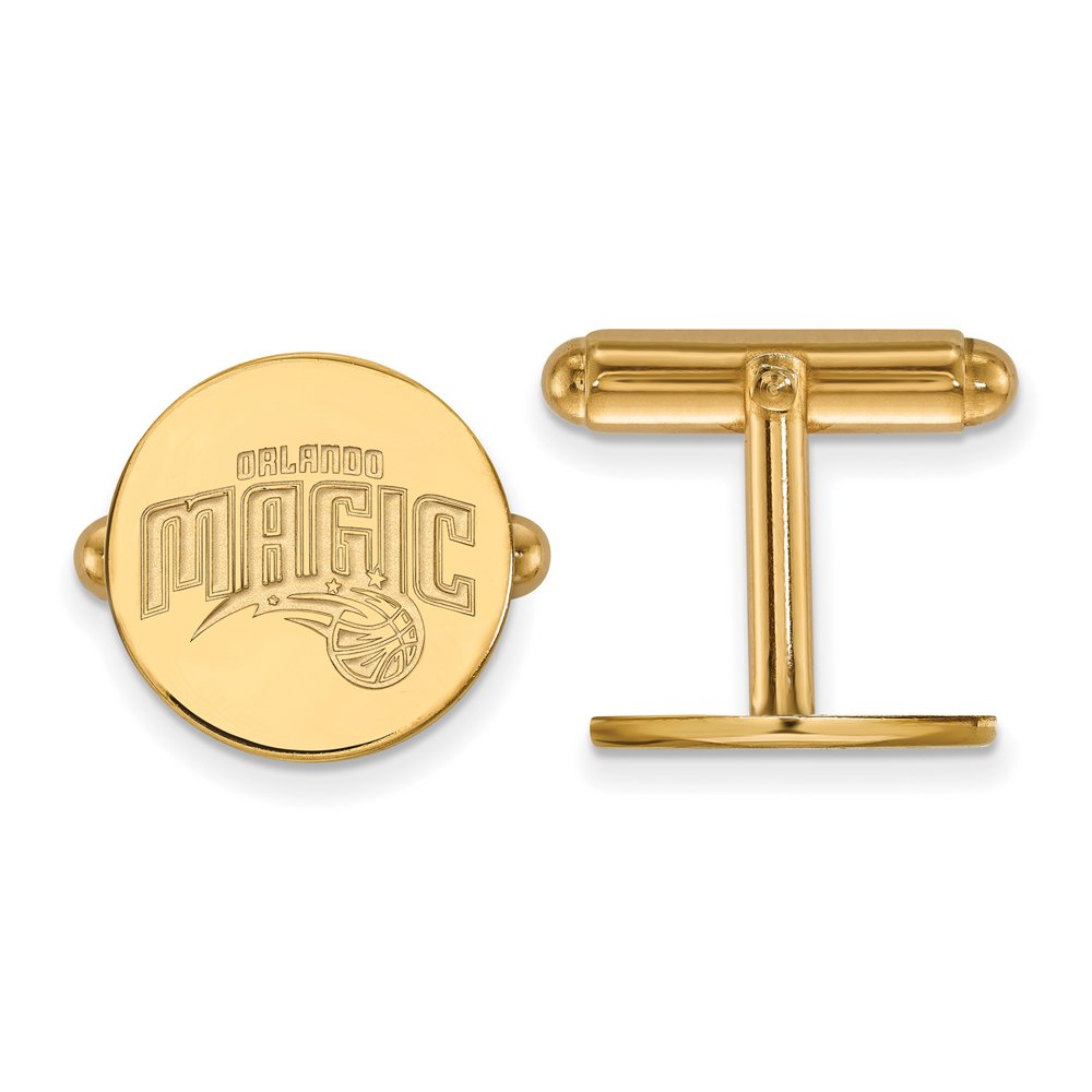 NBA Orlando Magic Cuff Links in 14K Yellow Gold
